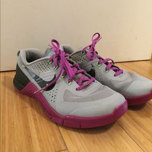 Flywire Nike Workout Running Tennis Shoes Purple